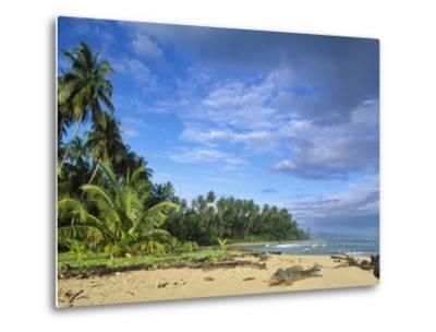 Beach in Limon, Costa Rica-Guido Cozzi-Metal Print