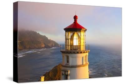 Heceta Head Lighthouse, Oregon Coast, Pacific Ocean, Pacific Northwest-Craig Tuttle-Stretched Canvas Print