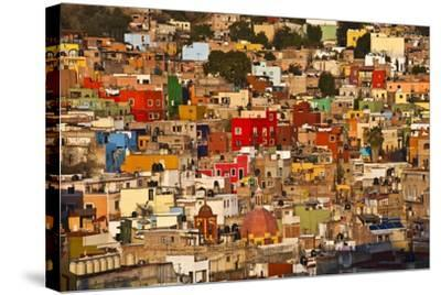 Hillside View of Guanajuato-Craig Lovell-Stretched Canvas Print