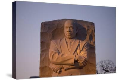 Martin Luther King Jr. National Memorial, a Monument to Civil Rights Leader, Washington, D.C.-Joseph Sohm-Stretched Canvas Print