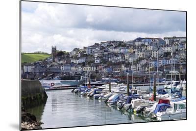 Brixham Harbour and Marina, Devon, England, United Kingdom, Europe-Rob Cousins-Mounted Photographic Print