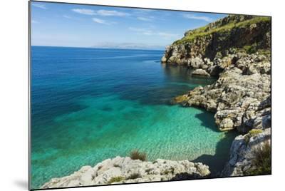 Lovely Limestone Cove at Zingaro Nature Reserve Near Scopello-Rob Francis-Mounted Photographic Print