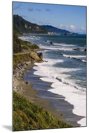 The Untouched West Coast of South Island Between Greymouth and Westport, West Coast, South Island-Michael Runkel-Mounted Photographic Print