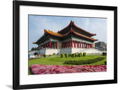 National Theatre on the Grounds of the Chiang Kai-Shek Memorial Hall, Taipeh, Taiwan-Michael Runkel-Framed Photographic Print