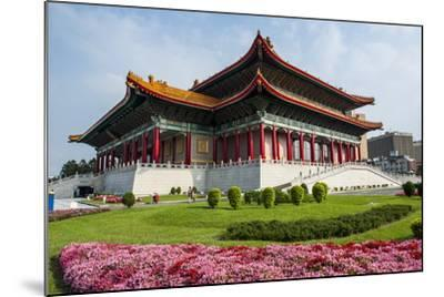 National Theatre on the Grounds of the Chiang Kai-Shek Memorial Hall, Taipeh, Taiwan-Michael Runkel-Mounted Photographic Print