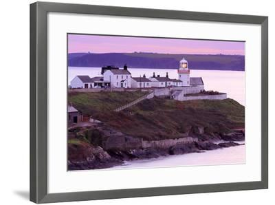 Roches Point Lighthouse, Whitegate Village, County Cork, Munster, Republic of Ireland, Europe-Richard Cummins-Framed Photographic Print