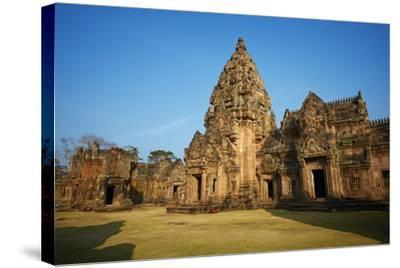 Phanom Rung Temple, Khmer Temple from the Angkor Period, Buriram Province, Thailand--Stretched Canvas Print