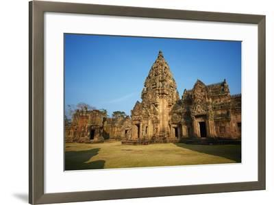 Phanom Rung Temple, Khmer Temple from the Angkor Period, Buriram Province, Thailand--Framed Photographic Print