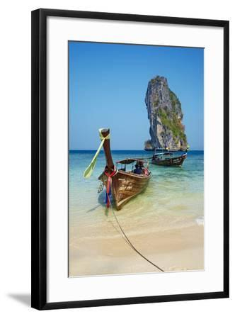 Ao Phra Nang Bay, Ko Poda Island, Krabi Province, Thailand, Southeast Asia, Asia--Framed Photographic Print
