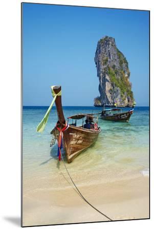 Ao Phra Nang Bay, Ko Poda Island, Krabi Province, Thailand, Southeast Asia, Asia--Mounted Photographic Print