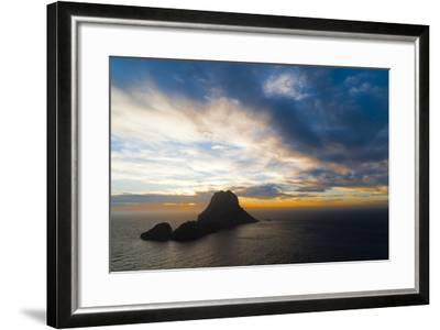 Sunset, Es Vedra and Vedranell, Ibiza, Balearic Islands, Spain, Mediterranean, Europe-Emanuele Ciccomartino-Framed Photographic Print