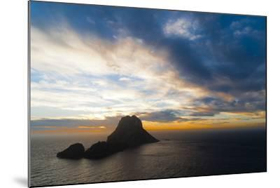 Sunset, Es Vedra and Vedranell, Ibiza, Balearic Islands, Spain, Mediterranean, Europe-Emanuele Ciccomartino-Mounted Photographic Print