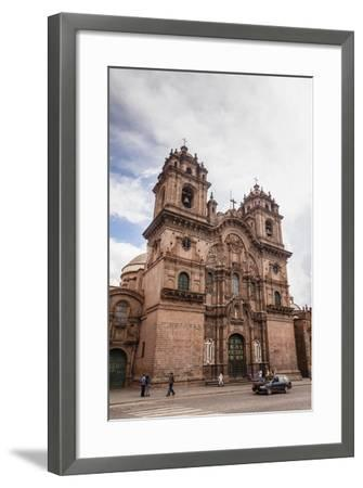 View over Iglesia De La Compania De Jesus Church on Plaza De Armas, Cuzco, Peru, South America-Yadid Levy-Framed Photographic Print