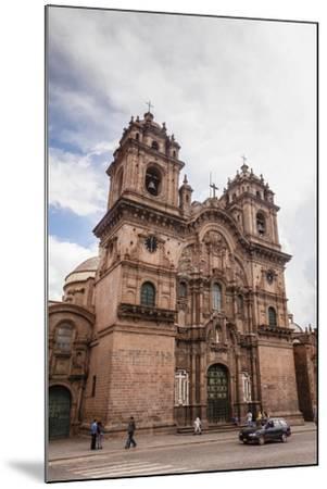 View over Iglesia De La Compania De Jesus Church on Plaza De Armas, Cuzco, Peru, South America-Yadid Levy-Mounted Photographic Print