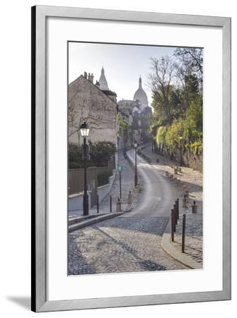 The Montmartre Area with the Sacre Coeur Basilica in the Background, Paris, France, Europe-Julian Elliott-Framed Photographic Print