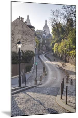 The Montmartre Area with the Sacre Coeur Basilica in the Background, Paris, France, Europe-Julian Elliott-Mounted Photographic Print