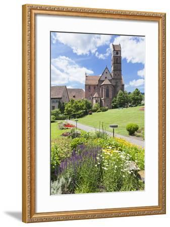 Abbey Church, Alpirsbach, Black Forest, Baden Wurttemberg, Germany, Europe-Markus Lange-Framed Photographic Print
