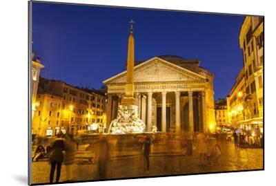 Piazza Della Rotonda and the Pantheon, Rome, Lazio, Italy, Europe-Julian Elliott-Mounted Photographic Print
