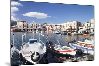 Old Venetian Harbour, Rethymno (Rethymnon), Crete, Greek Islands, Greece, Europe-Markus Lange-Mounted Photographic Print