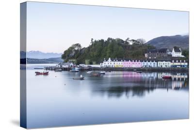 Portree Harbour on the Isle of Skye, Inner Hebrides, Scotland, United Kingdom, Europe-Julian Elliott-Stretched Canvas Print