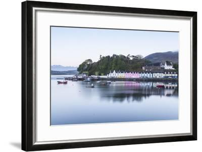 Portree Harbour on the Isle of Skye, Inner Hebrides, Scotland, United Kingdom, Europe-Julian Elliott-Framed Photographic Print