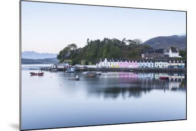 Portree Harbour on the Isle of Skye, Inner Hebrides, Scotland, United Kingdom, Europe-Julian Elliott-Mounted Photographic Print