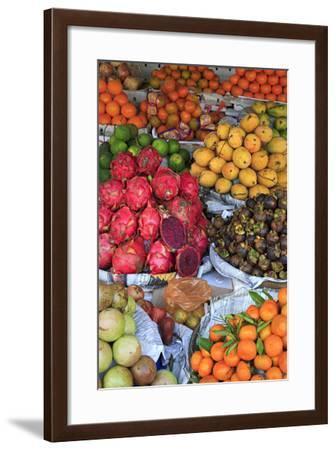 Fruit in Sihanoukville Market, Sihanouk Province, Cambodia, Indochina, Southeast Asia, Asia-Richard Cummins-Framed Photographic Print