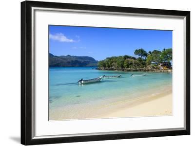 Playa Rincon, Las Galeras, Semana Peninsula-Michael Runkel-Framed Photographic Print