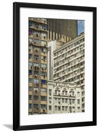 Architecture in Central Rio De Janeiro, Brazil, South America-Ben Pipe-Framed Photographic Print