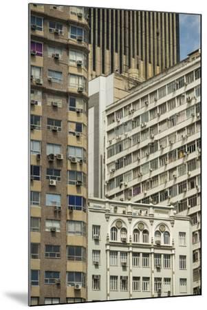 Architecture in Central Rio De Janeiro, Brazil, South America-Ben Pipe-Mounted Photographic Print