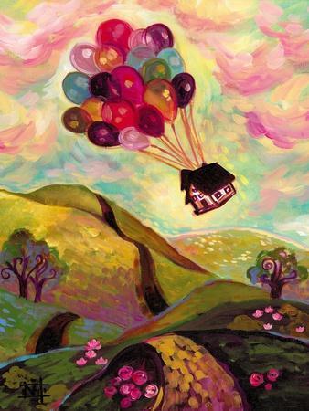 A Great Adventure-Natasha Wescoat-Stretched Canvas Print