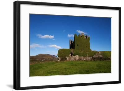 Ballycarberry Castle, Built Circa 16th Century, Near Caherciveen, Ring of Kerry, County Kerry--Framed Photographic Print