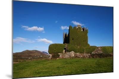 Ballycarberry Castle, Built Circa 16th Century, Near Caherciveen, Ring of Kerry, County Kerry--Mounted Photographic Print