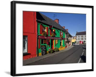 Colourful Cafe in Kilgarvan Village, County Kerry, Ireland--Framed Photographic Print