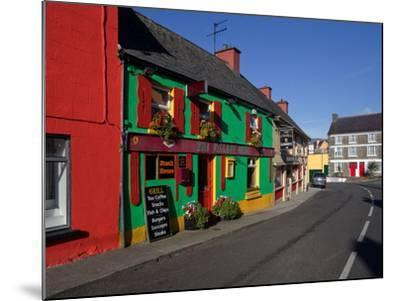Colourful Cafe in Kilgarvan Village, County Kerry, Ireland--Mounted Photographic Print