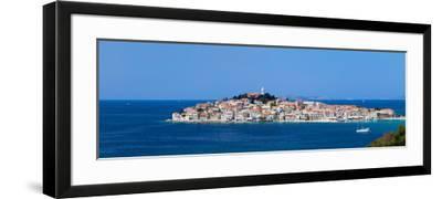 Town on a Coast, Primosten, Adriatic Coast, Dalmatia, Croatia--Framed Photographic Print