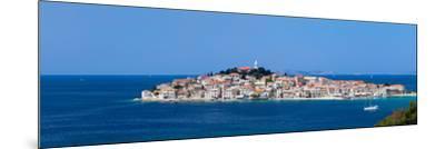 Town on a Coast, Primosten, Adriatic Coast, Dalmatia, Croatia--Mounted Photographic Print