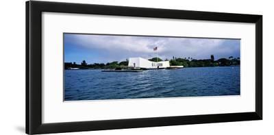 Uss Arizona Memorial, Pearl Harbor, Honolulu, Hawaii, USA--Framed Photographic Print