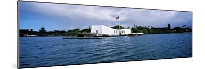 Uss Arizona Memorial, Pearl Harbor, Honolulu, Hawaii, USA--Mounted Photographic Print
