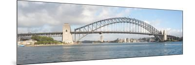 View of Sydney Harbour Bridge from Sydney Opera House, Sydney, New South Wales, Australia--Mounted Photographic Print