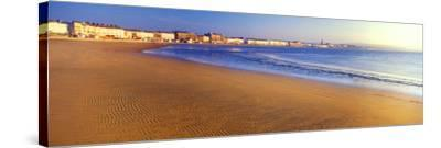 Beach, Weymouth, Dorset, England--Stretched Canvas Print
