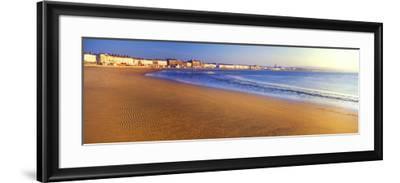 Beach, Weymouth, Dorset, England--Framed Photographic Print