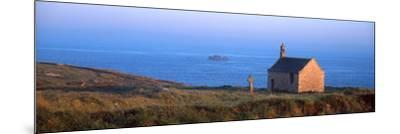 Chapel on the Coast, Saint-Samson Chapel, Portsall, Finistere, Brittany, France--Mounted Photographic Print