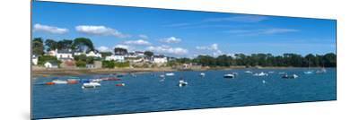 Village of Larmor-Baden, Gulf of Morbihan, Morbihan, Brittany, France--Mounted Photographic Print