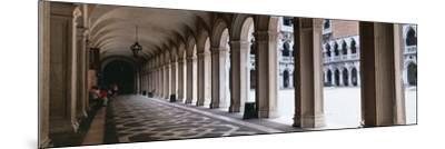 Corridor at a Palace, Doge's Palace, Venice, Veneto, Italy--Mounted Photographic Print
