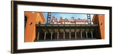 Low Angle View of the Busch Stadium in St. Louis, Missouri, USA--Framed Photographic Print