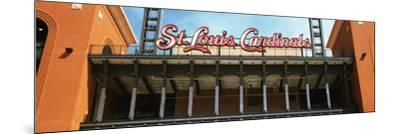 Low Angle View of the Busch Stadium in St. Louis, Missouri, USA--Mounted Photographic Print