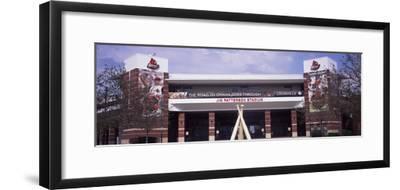 Facade of the Jim Patterson Stadium, Louisville, Kentucky, USA--Framed Photographic Print