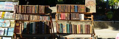 Books at a Market Stall, Havana, Cuba--Framed Photographic Print