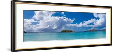 Clouds over the Sea, Cinnamon Bay, St. John, Us Virgin Islands--Framed Photographic Print